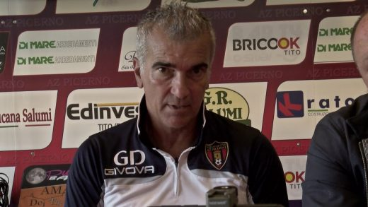 M. Giacomarro sala stampa AzPicerno-Fasano 6-5