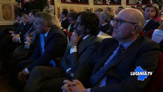 il Presidente del consiglio G. CONTE incontra i Sindaci Lucani