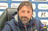 G. Raffaele e Carlos França dopo partita Potenza-Catania 1-1